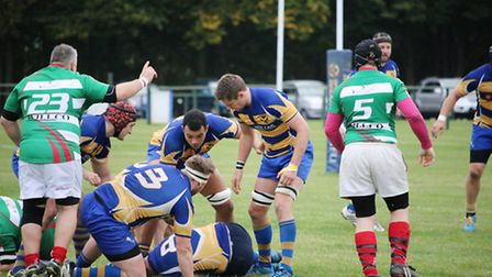 St Albans pushed London North West Three league leaders Hackney all the way on Saturday. Picture: KE