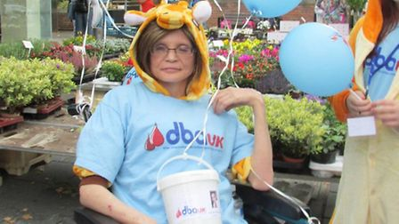 Brave 'Little Sue' - Sue Jones, otherwise known as Sue Browning, sadly died last year. She had a rar