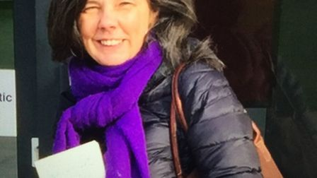 Children's author Helen Bailey, whose body was found in a cesspit at her home in Baldock Road, Royst