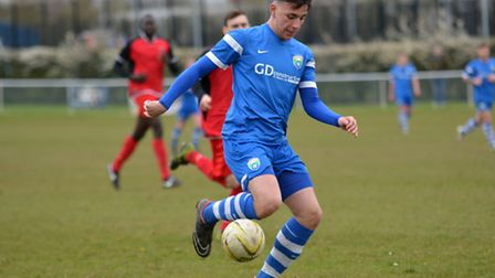 Stef Geraldes picked up an assist as London Colney Reserves beat Ascot. Picture: KEVIN LINES