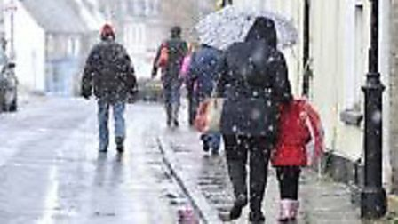 The Met Office have issued a cold weather warning