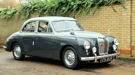 A 1950s MG Magnette. Picture: Clive Porter