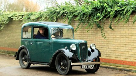 The Austin 7 model was produced from 1922 to 1939 in Britain. Picture: Clive Porter