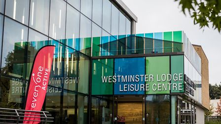 Westminster Lodge Leisure Centre in St Albans. Picture: Kieran Green