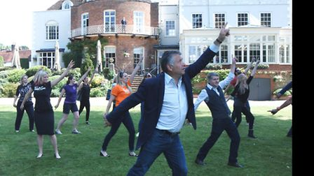 St Albans Businesses raised more than £2,000 for the chairty