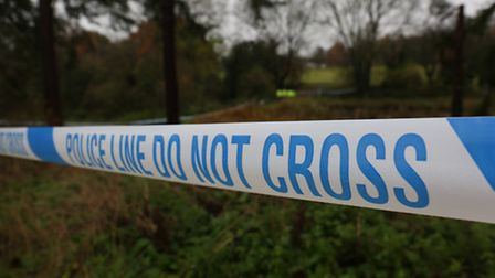 A heavy police presence at Southdown Ponds after a body was found in the water.