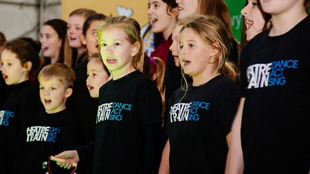 Jessica is set to continue success of other Theatretrain schools, children here pictured at Welwyn-H