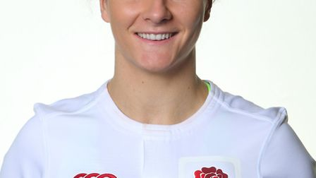 Harpenden's Sarah McKenna has been selected England's 2017 Six Nations campaign. Picture: JORDAN MAN