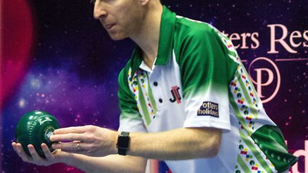 Nicky Brett has been knocked out of the World Indoor Championships. Picture: TONY RUSHMER