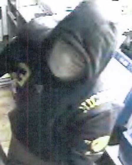 Officers investigating a burglary in Redbourn have released pictures of two men they would like to s