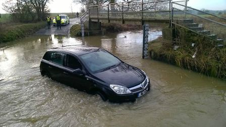 75-year-old woman saved stranded family from flooded ford in Hail Weston