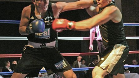 CAMPOL and Rotary Club of Huntingdon Cromwell Boxing Show.