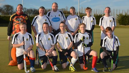 St Ives 4ths ahead of their victory against in-house rivals St Ives 5ths last Saturday.