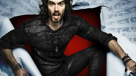 Russell Brand brings his Rebirth tour to Cambridge in May