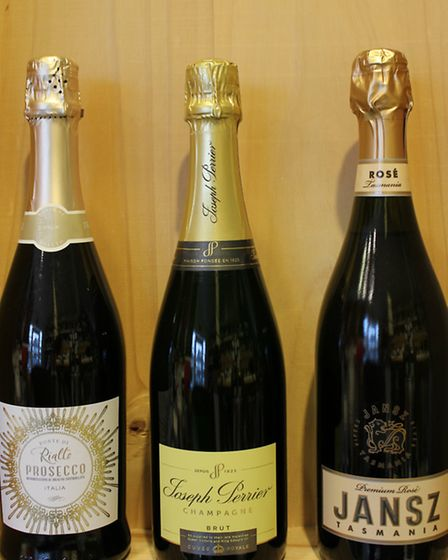 Prosecco, Champagne and sparking wine