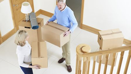 On the move: Packing is never easy