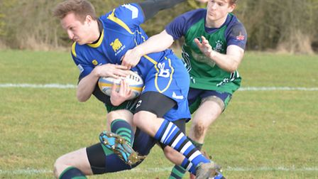 Alex Henly scored a try for St Ives in their win at Northampton BBOB.