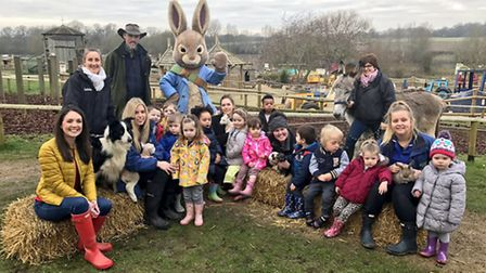 ITV Good Morning Britain have broadcast from Willows Activity Farm. Supplied by Laura Tobin.