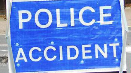 A person has died and another has been taken to hospital after a two-car crash on the A505 near Thri