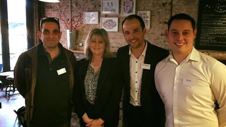 Save St Albans Pubs campaign meets with Anne Main. Supplied by Save St Albans Pubs.
