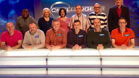 Back left to right: Dave Rainford, Judith Keppel, Lisa Thiel , Kevin Ashman, Barry Simmons , Jeremy