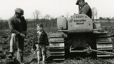 Farming in Harpenden in March 1942 - photo courtesy Rothamsted Research.