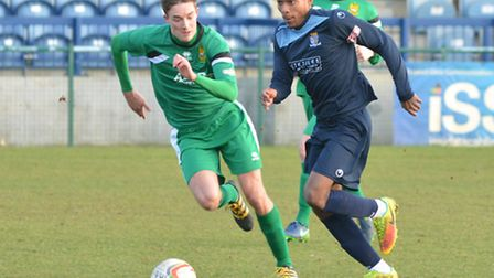 Hat-trick hero Jevani Brown helped St Neots to an impressive win against Chesham.