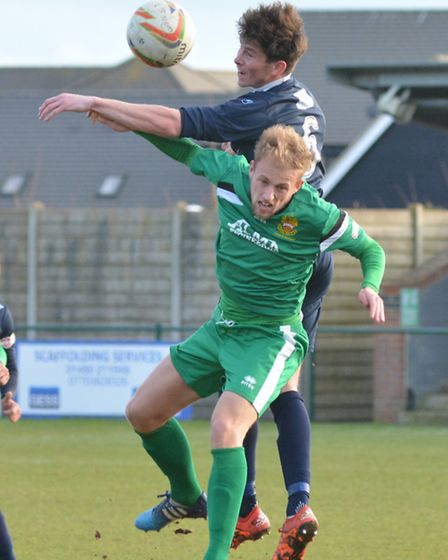 Taylor Parr won St Neots Town's late penalty in their defeat to Hitchin.