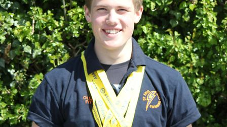 Ollie Fitt was in stunning form at the Cambridgeshire County Championships.