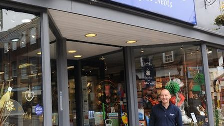 Alan Huckle outside the Barretts store late last year.