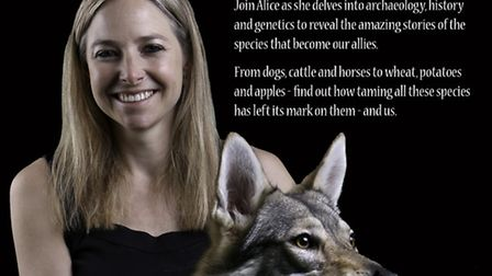 Anthropologist, author and broadcaster Dr Alice Roberts, professor of Public Engagement in Science a