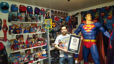 Marco Zorzin's Superman collection.