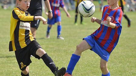 Action from a game during the Huntingdon Rowdies tournament last summer.