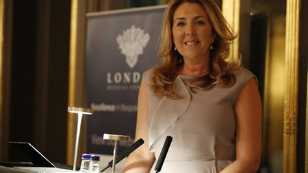 Kirsty Ettrick at the launch of London Medical Concierge