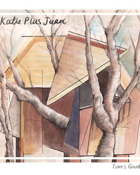 St Albans-based songwriting duo Katie Plus Juan will be performing at Trestle Arts Base