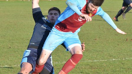 Lee Bassett scored and went off injured as Eaton Socon were held to a draw by Fowlmere.