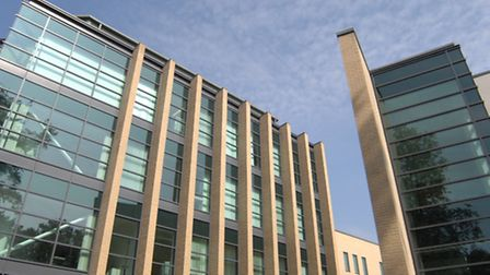 Pathfinder House, home of Huntingdonshire District Council.