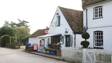 Tewin Stores is also home to the village post office