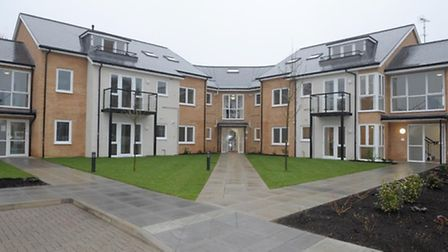 Rear view of Choristers Court.