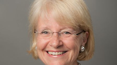 Cllr Teresa Heritage who has allocated the money to the St Albans Bereavement Network.