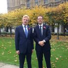 Back in 2015, Hertsmere MP Oliver Dowden, left, made a statement in Parliament regarding the campaig
