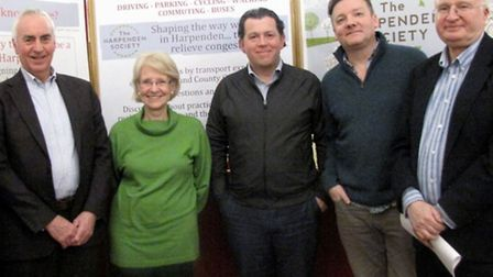 Those at the meeting in Harpenden called for the introduction of a 20mph speed limit in the town. Fr