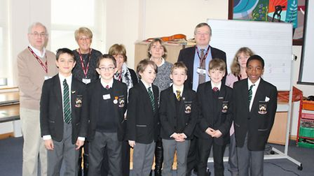 Boys in Prep 6 at St Columba's College in St Albans were lucky enough to have a visit from the Legal