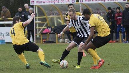 Josh Dawkin hit St Ives Town's late leveller at Frome. Picture: LOUISE THOMPSON