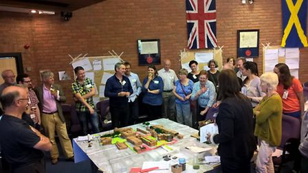 Charrette organised by Look! St Albans to discuss the Civic Centre regeneration