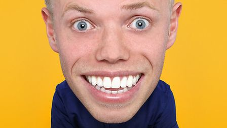 Comedian Rob Beckett is back at The Alban Arena on Saturday, March 4