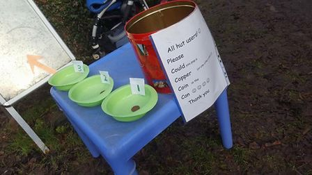 Spending a penny at Old London Road Pre-School and Nursery, St Albans.