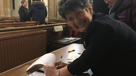 Maggie Allen is hoping for a final boost of signatures in their petition to secure the future of Roy
