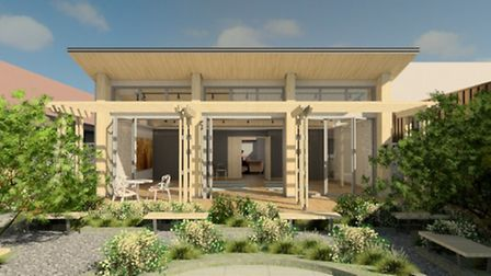 The new garden room will help to support patients who are undergoing treatment.