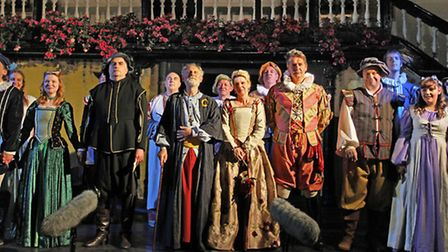 The SatG performed the Merchant of Venice in 2014